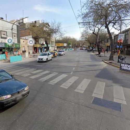 Repavimentación calle Alem