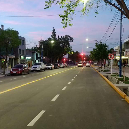 Av. Paso de los Andes – Etapa 1